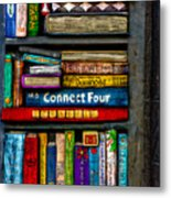 Shelved-15 Metal Print