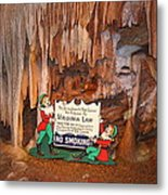 Shenandoah Caverns - 12127 Metal Print by DC Photographer