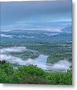 Shenandoah Evening Fog Metal Print