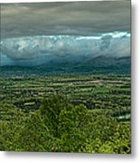 Shenandoah Green Valley Metal Print by Lara Ellis