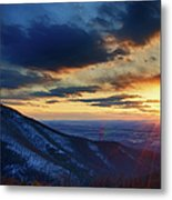 Shenandoah Sunset Metal Print