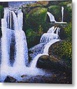 Shenandoah Valley Falls Metal Print