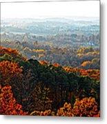 Shenandoah Valley Fall Panorama Metal Print
