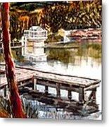 Shepherd Mountain Lake Bright Metal Print by Kip DeVore