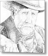 Sheriff Metal Print