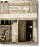 Sheriff Office Metal Print