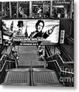 Sherlock Holmes At The Station Metal Print