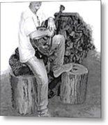 Sherman Dillon Metal Print