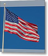 She's A Grand Old Flag Metal Print by Floyd Hopper