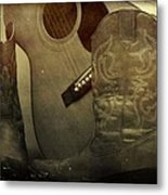 Shes Country Metal Print