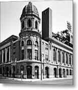 Shibe Park In Black And White Metal Print