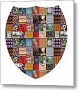 Shield Armour Yin Yang Showcasing Navinjoshi Gallery Art Icons Buy Faa Products Or Download For Self Metal Print