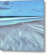 Shifting Sands On Frisco Beach Outer Banks I Metal Print