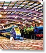 Shildon Railway Museum Metal Print