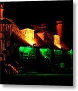 Shimla At Night Metal Print
