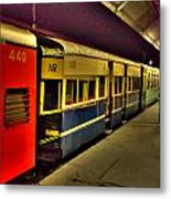 Shimla Toy Train Metal Print
