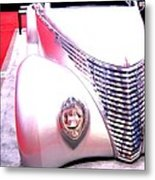 Shimmering Coupe Metal Print