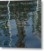 Shimmers Ripples And Luminosity Metal Print