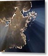 Shining The Light Metal Print