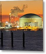 Shiny Refinery #3 2am-27808 Metal Print