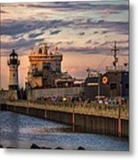 Ship Ahoy Metal Print