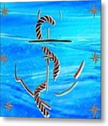 Ship Anchor Metal Print