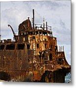 Ship Ashore Metal Print