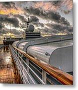Ship Deck Metal Print