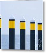 Ship Guides Metal Print