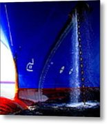 Ship - Gulf Of Mexico Metal Print