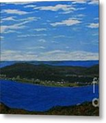Ship Harbour From Sugarloaf Hill Metal Print