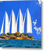 Ship Of State Metal Print