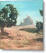 Ship Rock New Mexico Metal Print