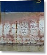 Ship Rust 1 Metal Print