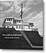 Ship Shape Metal Print