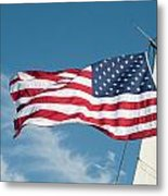 Ship's Flag Metal Print