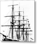Ships Hms 'agincourt Metal Print