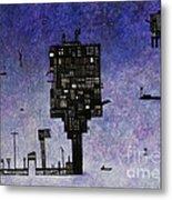 Ships In The Night IIi Metal Print