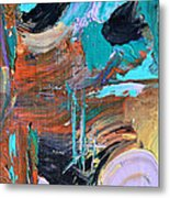 Shipwreck Harbor Metal Print