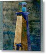 Shipwreck Point Lighthouse Metal Print