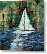 Shipwrecked Metal Print by Nan Bilden