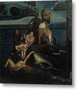 Shipwrecked Psyche Unfinished Metal Print