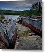 Shipwrecks At Neys Provincial Park No.3 Metal Print