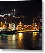 Shipyards 2 Callao Port Lima Peru Metal Print