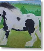 Shire Horse Metal Print by David Hawkes