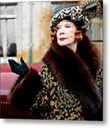 Shirley Maclaine @ Tv Serie Downton Abbey  Metal Print