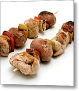 Shish Kebab Metal Print