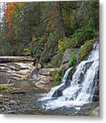Shoal Creek Area Waterfalls Metal Print