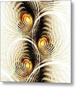 Shock Waves Metal Print