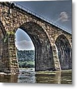 Shocks Mill Bridge Metal Print